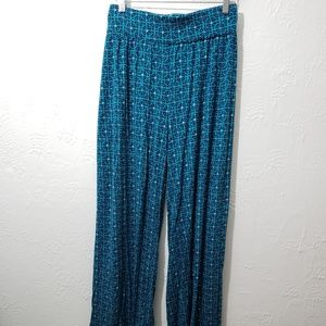 Lane Bryant 18/20 trouser & wide leg pant blue